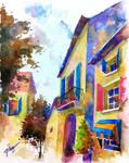 Grignan, Provence, France-VIII by tilenti