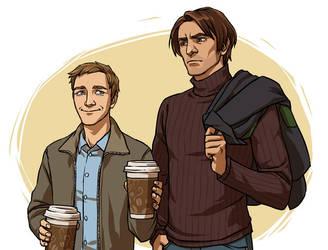 Coffee? by CarassiusVigorous