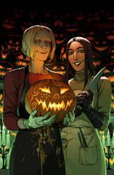 Allies Halloween cover by CarassiusVigorous