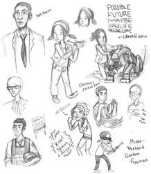 Half Life Prequel Comic Teaser by LOBrien