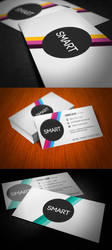 Smart Stripes Business Card by KaixerGroup