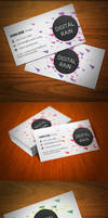 Digital Rain Business Card by KaixerGroup