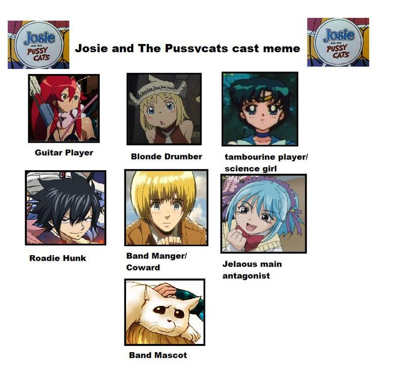 Josie And the Pussycats Recast Meme by KaumiThomason