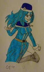 Fairy Tail - Juvia In Action by KaumiThomason