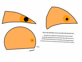 Steve Sanity-Based Eye Expressions by CutieTheIPadArtist