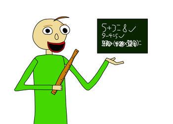 Baldi's Basics In Impossible Math by CutieTheIPadArtist