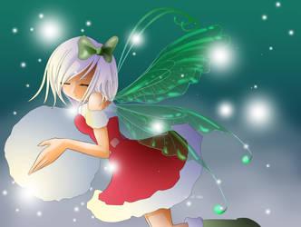 Snowball contest-Snow Fairy by nukunukuneko