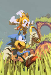 don't look back :feat. Sonic: by edtropolis