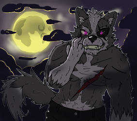 181014 Werewolf O'Donnell by BrunoLaplace