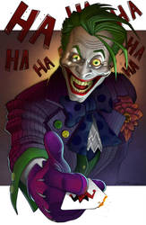 The Joker by jongraggart