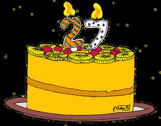 Happy birthday, Fi by ArynChris