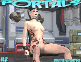 Patreon Full Comic for October - Portals 02 by creativeguy59