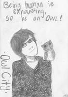 Quit Work, Be An Owl by XShiningxStarrX