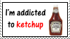 Ketchup Stamp by OkdroMasterOfRunes