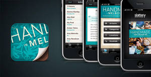 'Handmade' iPhone App Design by shod4n