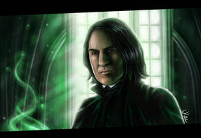 Severus Snape by VLAC