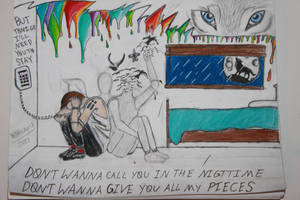 The Run and Go Drawing - twenty one pilots by WolfzArt13
