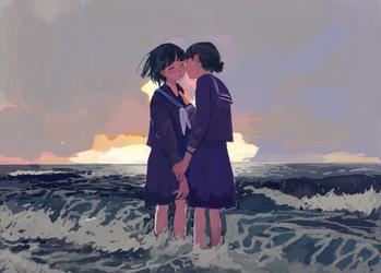 Yuri by minahamu