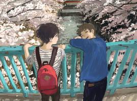 You are like spring by minahamu