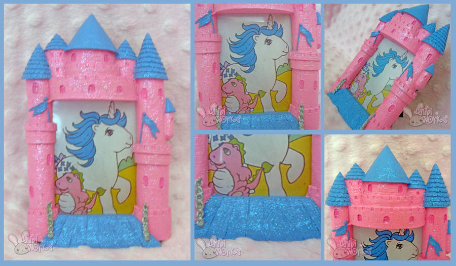 My Little Pony Castle Picture Frame By Chibiworks On Deviantart