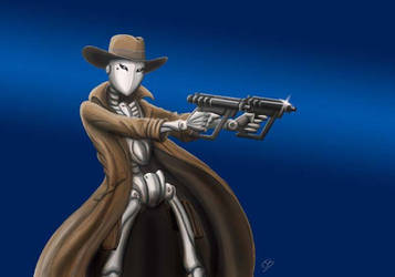 PIst0l-B0t, assassin droid by Kumanagai