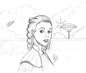 Princess Leia by Kumanagai