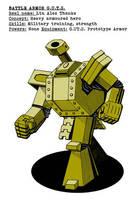 P.u.l.p Heroes: Battle Armor G.U.T.S. by Kumanagai