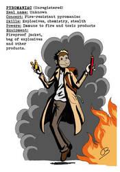 P.u.l.p Heroes: Pyromaniac by Kumanagai