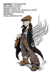 P.u.l.p Heroes: Smokeboy by Kumanagai