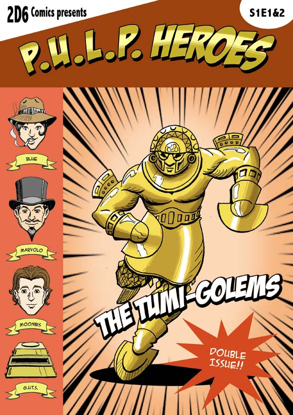 P.U.L.P Heroes: S1E1-2 cover by Kumanagai