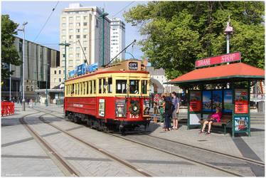 Christchurch Tramway by shenanigan87