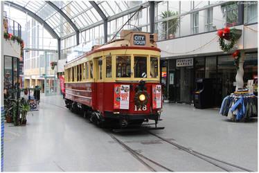 Indoor Tram by shenanigan87