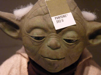 Yoda with a Pantone Color by awcook333