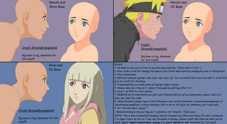 Naruto and Shion Base by ShinanaEvangelian1