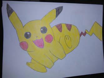 Pikachu by NoelleYami