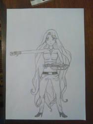 Noel from Mermaid Melody as a duelist by NoelleYami