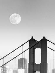 Super Moon San Francisco 2013 by geolio