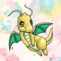 #149 Dragonite Pokemon Challenge by Meridot