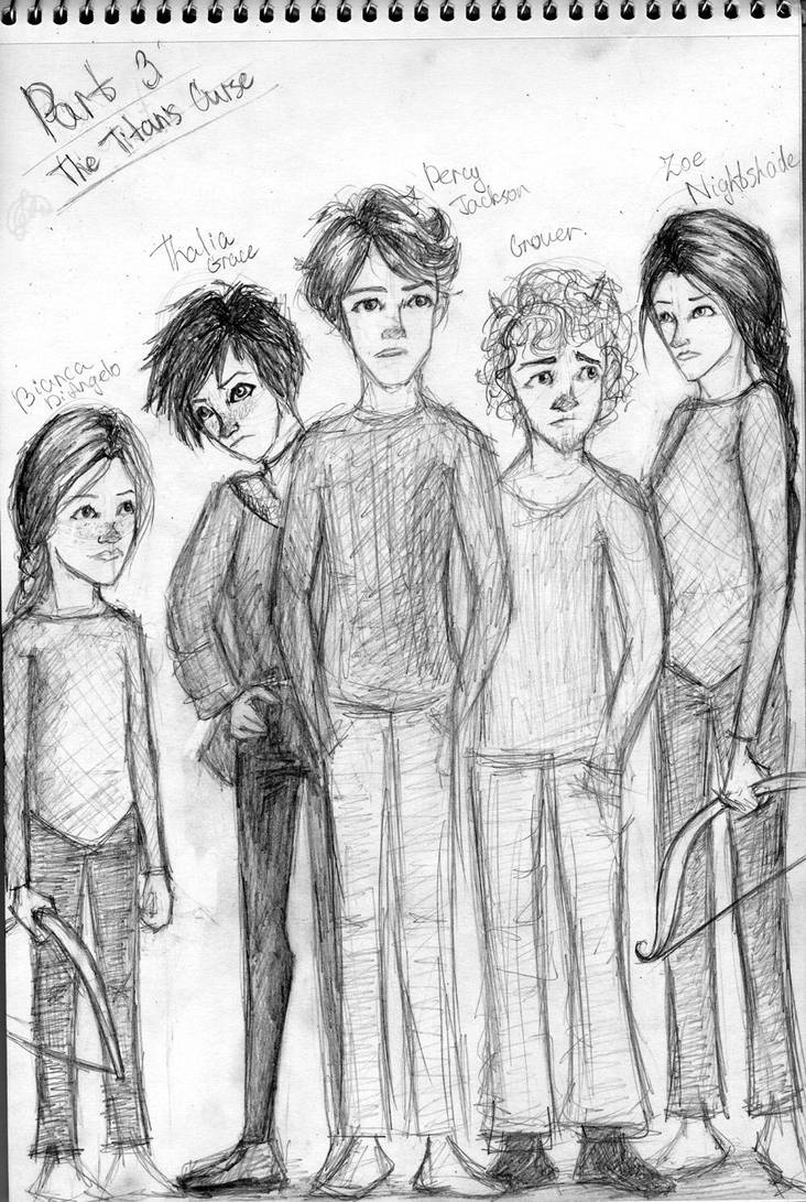 Percy Jackson And The Titan S Curse By Terrie Bum On Deviantart