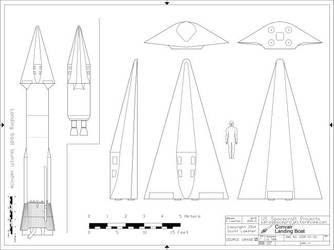 Convair Landing Boat USSP-01-03 by Scott-Lowther