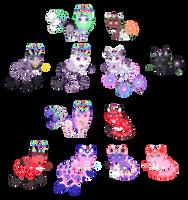 Heart Triplecat Breedings [CLOSED] by Quapon