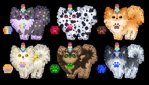 Eskicat Adoptables! [CLOSED] by Quapon
