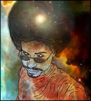 Cosmic Self Portrait Final by JazzLizard