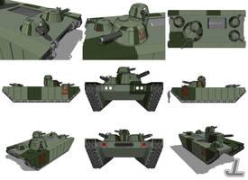Maganacor MBT MK6 by JazzLizard