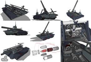 Pannar Mobile Artillery by JazzLizard