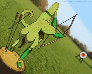 Sam the Archer Redux by JazzLizard