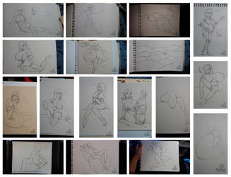 The-I'm Not Dead-Sketchdump! by JazzLizard