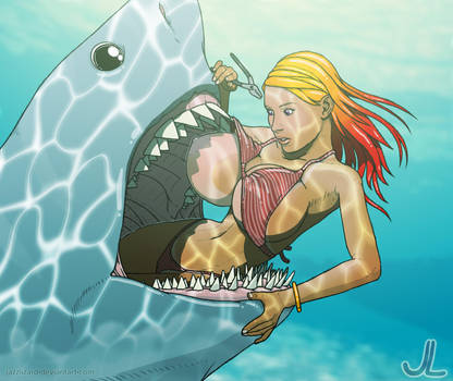 Shark Dentistry by JazzLizard