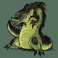 Gator by gabfury