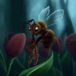 Honeybee Teddybear by gabfury